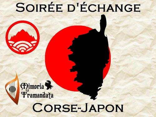 17 Octobre 2018 à 20h - Soirée d'échange Corse-Japon