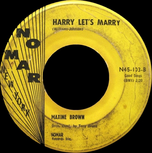 "Maxine Brown : Album "" The Fabulous Sound Of Maxine Brown "" Wand Records WDM 656 [ US ]"