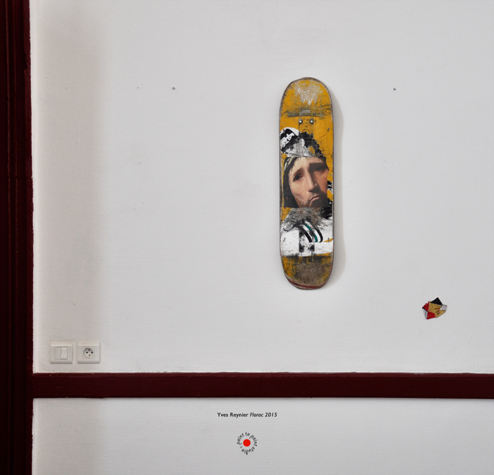 Yves Reynier Skate Peinture