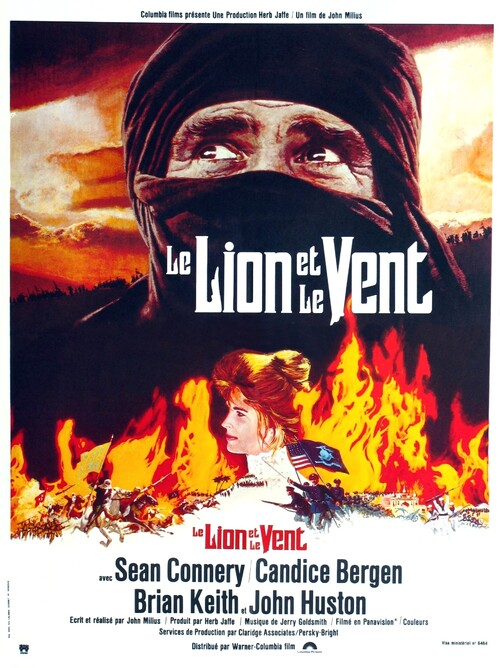 LE LION ET LE VENT (THE WIND AND THE LION) - SEAN CONNERY BOX OFFICE 1975