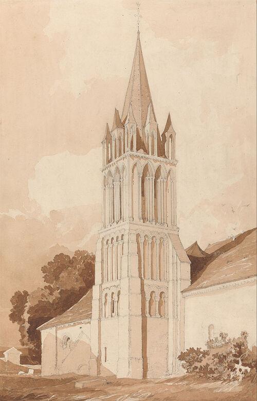 Illustrat'IFS : l'église d'Ifs
