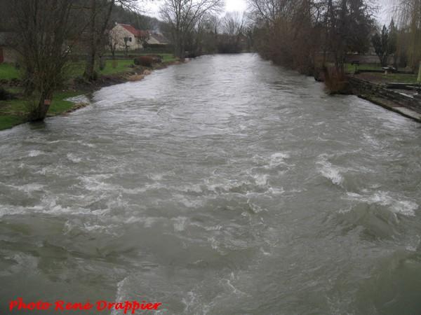 L'eau est enfin revenue dans les sources, rivière et Vannages