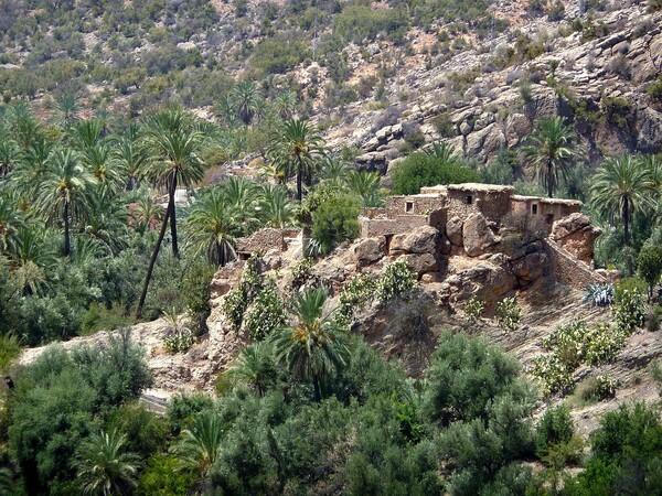 Vallée du paradis ruines