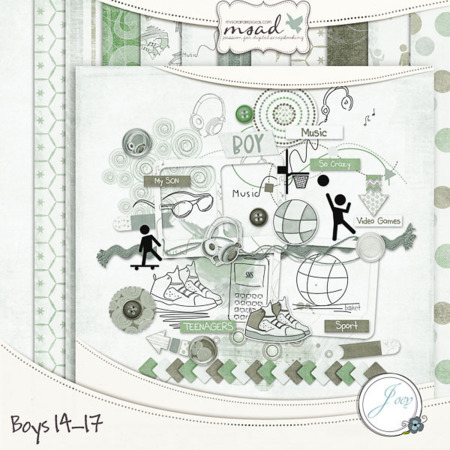 "Joey Designs ""BOYS 14-17"""