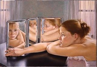 Le miroir ...