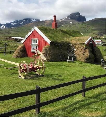 Ces maisons végétales biodégradables