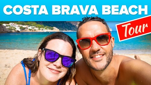 COSTA BRAVA - Walking Lloret de Mar Beach (Voyages)