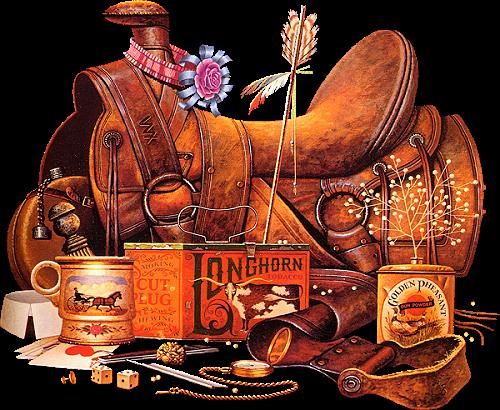 Tubes déco Indienne et Cowboy