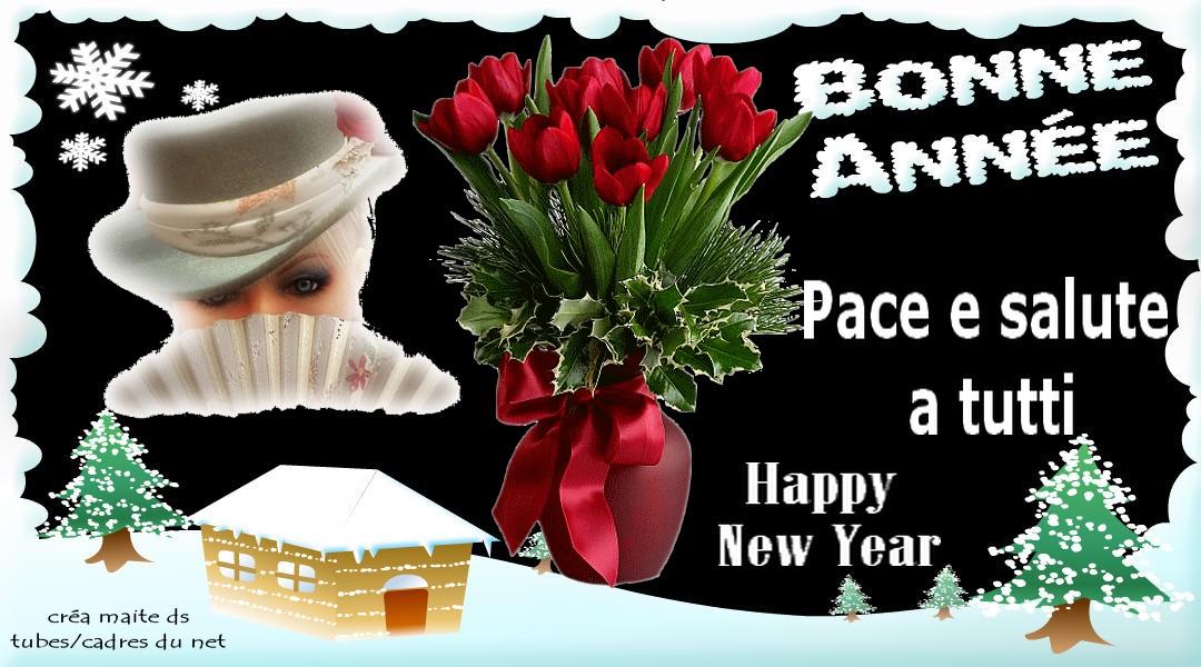 Pace e salute a tutti - Bonne année