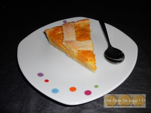 Tarte Halloween courge / pomme