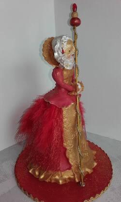 Carnaval en porcelaine frode