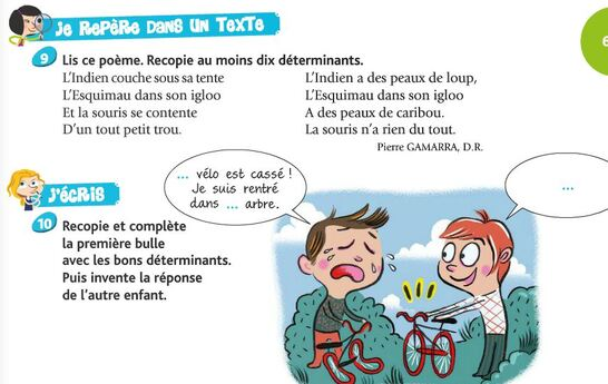 Au rythme des mots / étude de la langue