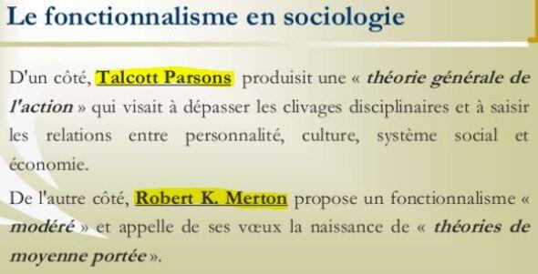 Qu'est ce que le fonctionnalisme de Malinowski et Merton?