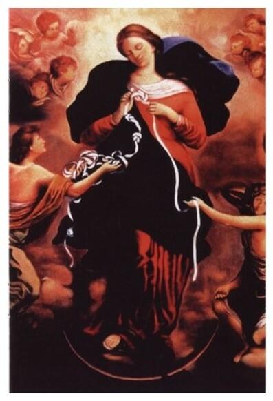La Vierge Marie.