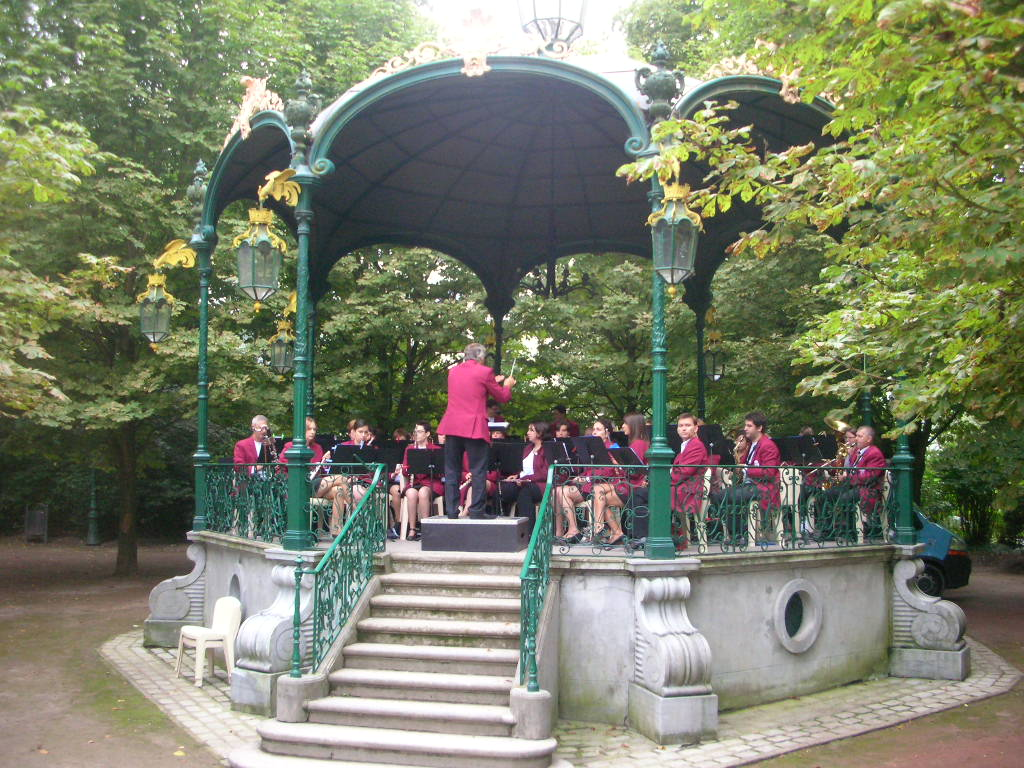 Concert au kiosque du jardin public harmonie for Jardin public