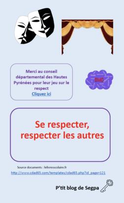 Se respecter, respecter les autres