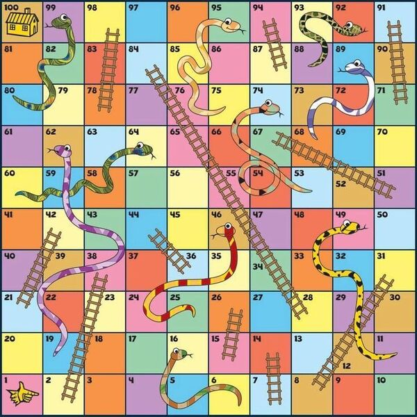 CHALLENGE SNAKES AND LADDERS