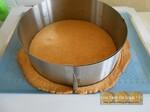Bavarois palet breton pralin mousse caramel speculoos & mousse abricot