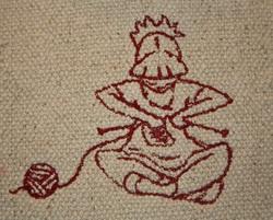 Motifs tricot et couture 1.