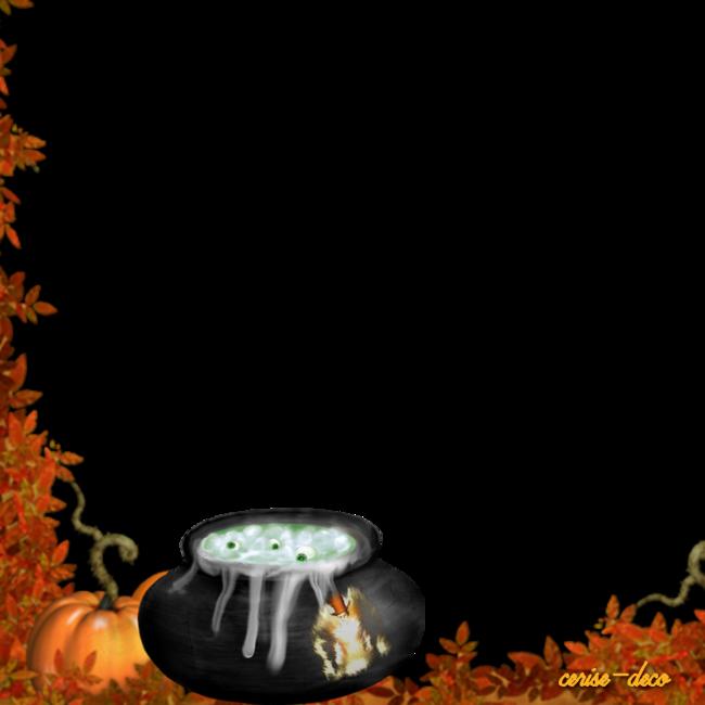 cluster gratuit : la marmite d'halloween