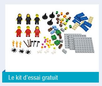Kit et concours Lego