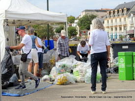 Pornic, World Clean Up Day 2019
