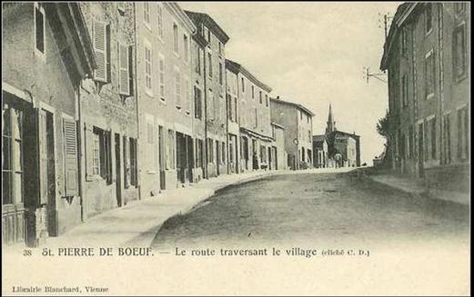 La maison familiale de Saint Pierre de Bœuf (1)