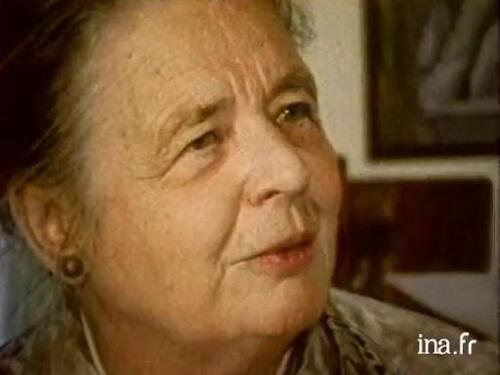 Lettre à Marguerite Yourcenar