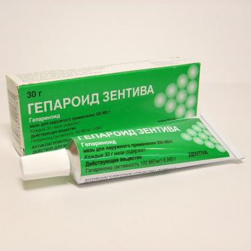 Гепароид лечива при геморрое