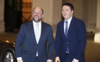 schultz e Renzi