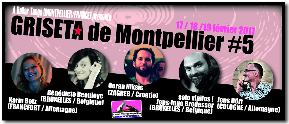 "★ DJ F.ROMAY à La PITUCA demain, vendredi 13 janvier / ""GRISETA #5"" ★"