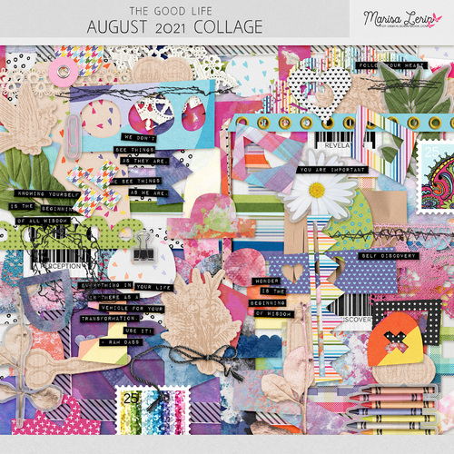 Collage-The good life August 2021