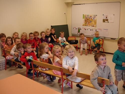 La rentrée des classes en maternelle