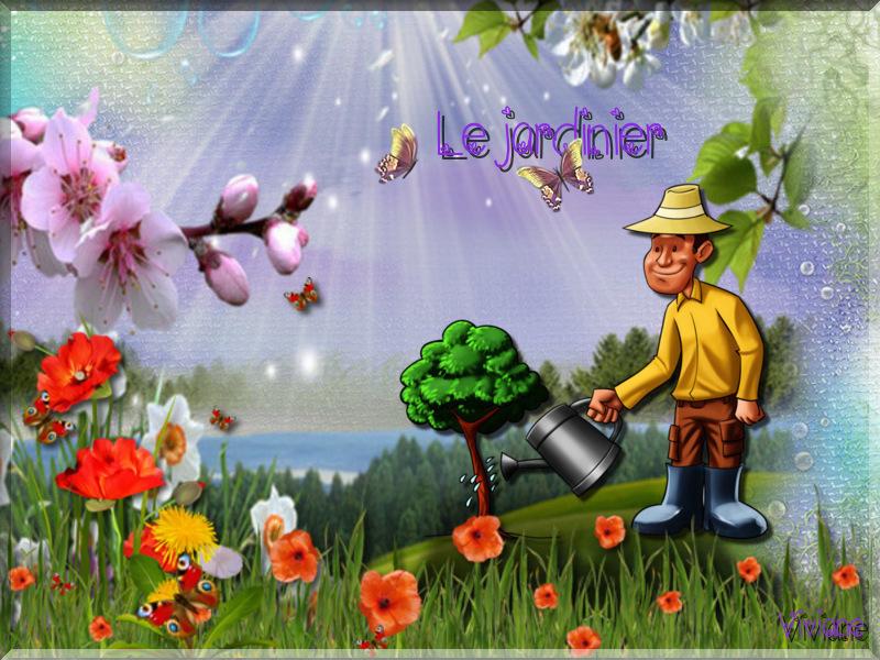Le jardinier défi de Marjolaine