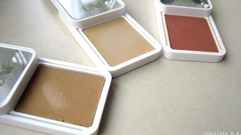 Nouveautés UNE : BB creams concealer & Blush.