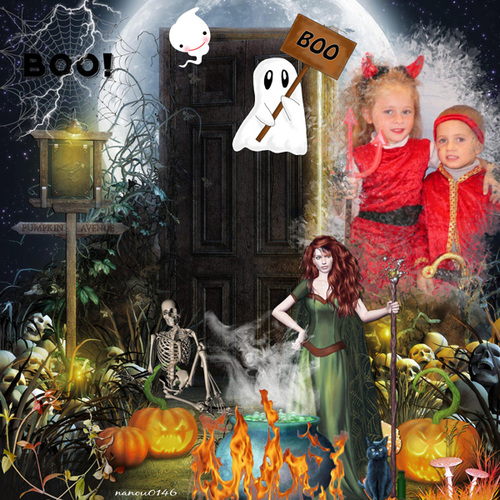 Kit Halloween Day