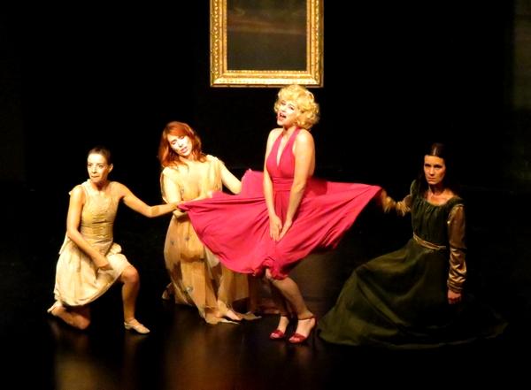"""""""Les Muses"""" au Théâtre Gaston Bernard nous ont offert une folle soirée de gaieté...."""