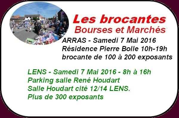 Brocantes et randonnées à Arras et ses environs ce week-end