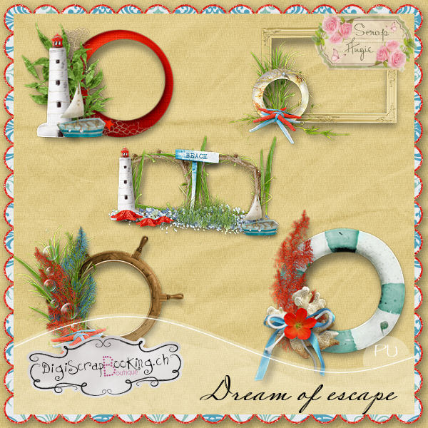 Dream of escape by Scrap'Angie