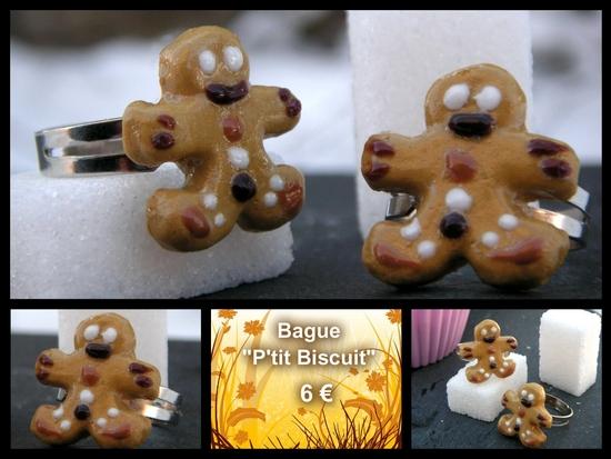 Bague P'tit Biscuit