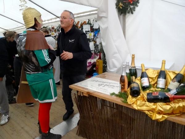 Une grande fête gauloise a eu lieu à Villiers le Duc samedi 13 décembre....