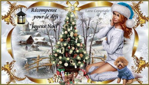 dernier défi  de l''année pour Lara0011 '' joyeux Noël''