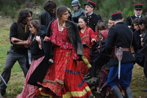 Arrestation des roms