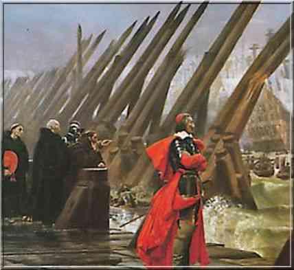 La Rochelle le siège Richelieu par Henri-Paul Motte