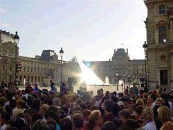 pyramide louvre