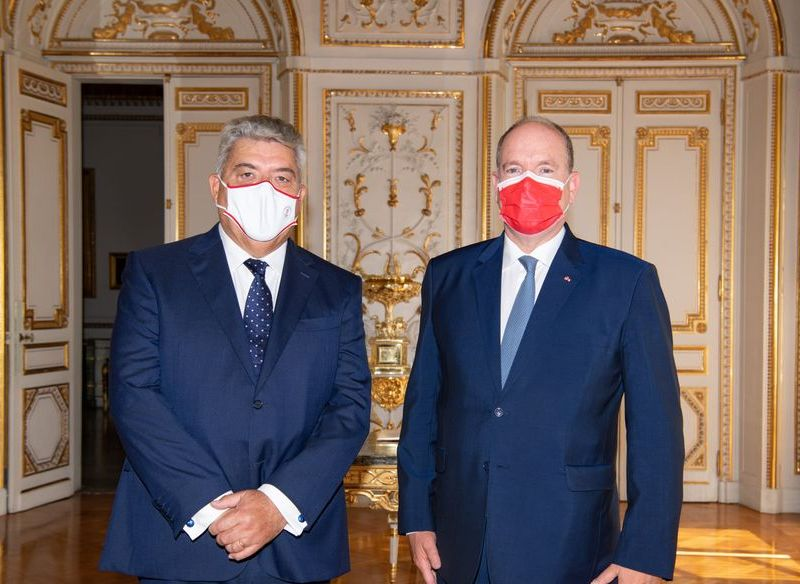 Prestation de serment de S.E. M. Pierre Dartout, Ministre d'Etat