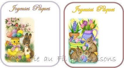 Pâques ! cartonnettes