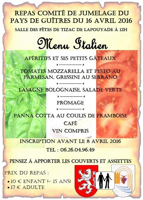 Convivialité européenne sous les couleurs de l'Italie