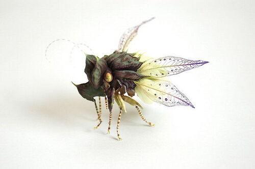Hiroshi Shinno et ses insectes de l'étrange