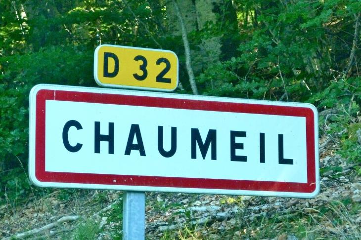 Autrefois :  vient de  - Chaumeil
